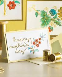 mother u0027s day clip art cards martha stewart