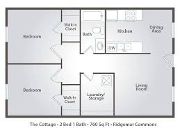 2 bedroom cottage floor plans 2 bedroom apartment floor plans pricing ridgemar commons