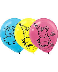 peppa pig birthday amazing deal on peppa pig birthday party printed balloons