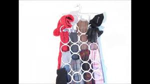 how to organize ties and scarves in a fun way youtube