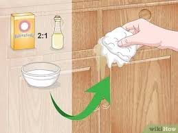 how to clean oak cabinets before staining how to clean oak cabinets with pictures wikihow