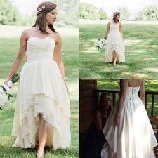 plus size country wedding dresses discount high low western country wedding dresses 2018 sweetheart