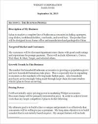 construction business plan template 4 startup business plan