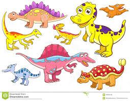 cute dinosaurs royalty free stock photos image 29994538