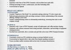 Waiter Resume Template Order Of Science Fair Research Paper Admissions Essay Help Packet