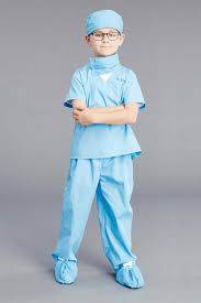 personalized jr doctor scrubs costume for kids chasing fireflies