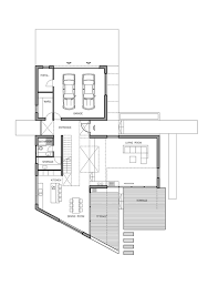 t shaped house floor plans imposing contemporary residence with a t shaped floor plan in