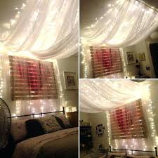sheer curtains with lights curtain lights behind bed sheer curtains fairy lights image result