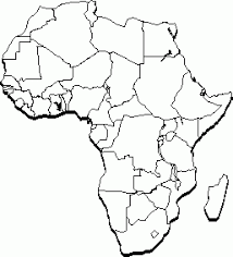 africa map black and white clipart practica technical