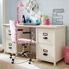 Small White Desk With Drawers by Bedroom Green Wall Decor With White Desk And Swing Arm Lamp Plus