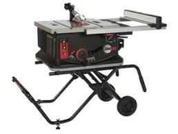 Ryobi 10 Inch Portable Table Saw Best Portable Jobsite Table Saw Shootout Pro Tool Reviews