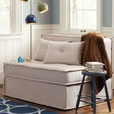 Sleeper Sofa Chairs Cushy Sleeper Sofa 47 25 Pbteen