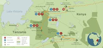 Map East Africa by East Africa Big Cat Safari Discover Africa Safaris