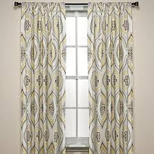 Bed Bath And Beyond Curtains And Drapes Lanterna Window Curtain Panels 100 Cotton Bed Bath U0026 Beyond