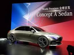mercedes concept cars mercedes concept a sedan unveiled in images