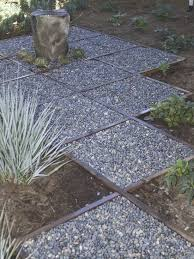 Backyard Walkway Designs - cheap garden path ideas photograph inexpensive walkways an