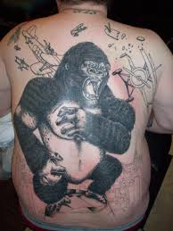 king kong tattoo