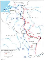 River Maps Usa by Hyperwar Us Army In Wwii Breakout And Pursuit A New Map For