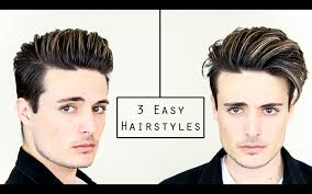 cali haircut for guys 3 easy mens hairstyles no heat hair tutorial healthy hair 2016