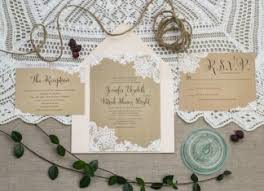 Burlap And Lace Wedding Invitations Wedding Invitations Deer Pearl Flowers