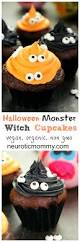 halloween monster witch cupcakes recipe witches monsters and