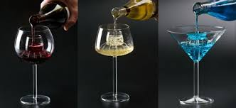 unique shaped wine glasses legacy aerating wine glasses drinksfeed