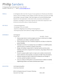 Sample Of Resume For Civil Engineer Building A Cv Coinfetti Co