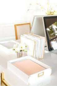 Marble Desk Accessories White Desk Accessories Medium Size Of Desk Workstation Office