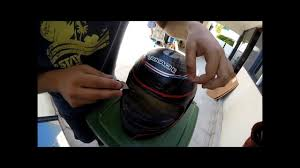 helmet painting at home youtube