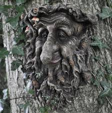 tree face fabulous large treant face b greenman decorative garden wall