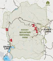National Parks Map Usa by Geography Of Arizona Wikipedia Map United States Rocky Mountains