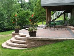Retaining Wall Patio Design Wall Steps Album 1