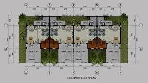 House Design Layout Philippines Indian Row House Floor Plans Row House Plans Free Home Design