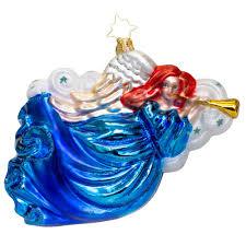 radko trumpet ornament