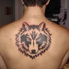 93 stunning wolf tattoos for back