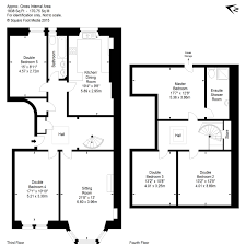 Tenement Floor Plan by 51 3f2 Marchmont Road Marchmont Eh9 1ht 5 Bed Flat 369 000
