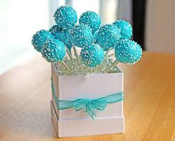 themed cake pops blue birthday cake pops