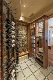 interesting rustic wine cellar room design interior with small
