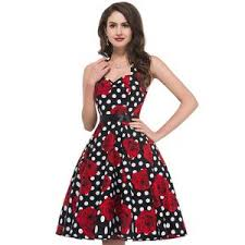 newest fashion styles for woman in their 60s 2017 new style summer 60s robe vintage dress women pin up clothing 50s