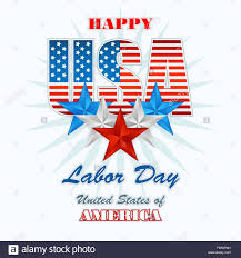Design Of American Flag Holidays Design Template With National American Flag Colors For