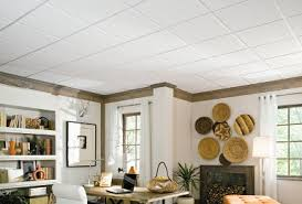 Suspended Ceiling Grid Covers by Smooth Ceiling Tiles Armstrong Ceilings Residential