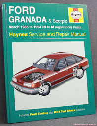 repair manual second hand books from booklovers of bath