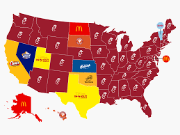 usa map quizlet best fast food chain in every state business insider