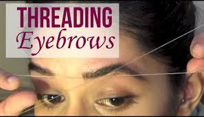 How To Do Eyebrow How To Eyebrow Threading Tutorial Youtube