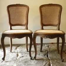 Straight Back Chairs Thomasville Cane Back Dining Chairs Straight