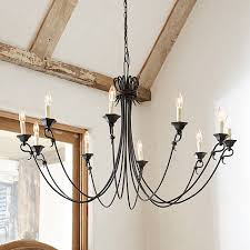 Candle Sleeves For Chandeliers The Slender Arms Of Our 10 Light Luce Chandelier Reach Out In