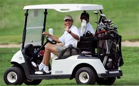 Image result for obama golfs during american decay pics