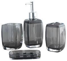 Contemporary Bathroom Accessories Sets - acrylic bathroom accessory sets contemporary bathroom accessory