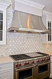 moroccan tile kitchen backsplash kitchen with wolf dual range transitional kitchen