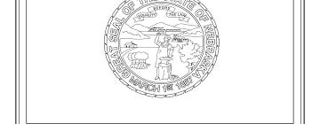 nevada state flag coloring page coloring page state flag nebraska printable worksheet surviving